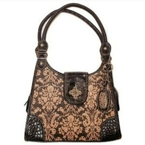 Rosetti Floral Carpet Bag Handbag